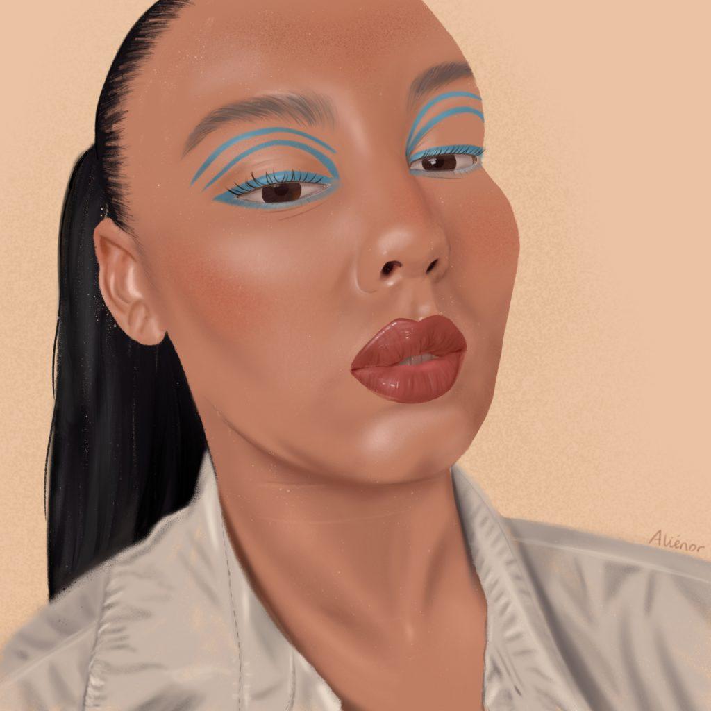 portrait-ines-maquillage-alieenor