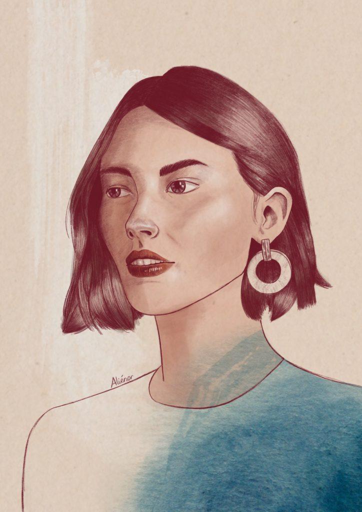 portrait-alieenor-aquarelle-digitale